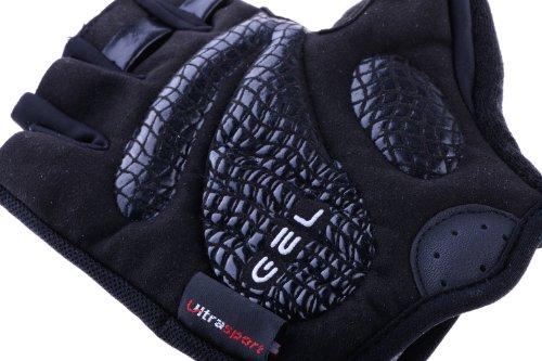Ultrasport Fahrrad Handschuhe, schwarz, XL, 10214 - 6