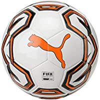 Puma Futsal 1 FIFA Quality Pro White-Shocking orange-PUM