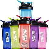 ProElite V3 Mixable Protein Shaker Bottle, 600 ml, Sky Blue