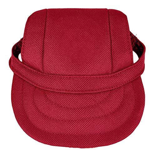 Legendog Sombrero de perro, gorras de béisbol perro ajustable sombrero de perro a la Mode con agujeros de oído