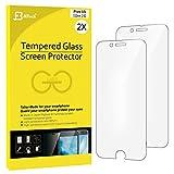 iPhone 6s Protector de Pantalla, JETech 2-Paquetes iPhone 6s 6 Protección de los ojos Vidrio Templado Protector de Pantalla (Mate) - 0803C