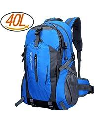20L/40L/60L Ultra Ligero Mochila de senderismo mochila de viaje mochila mochila, ideal para ciclismo, Trekking, práctico plegable camping Mochila de viaje, 40L
