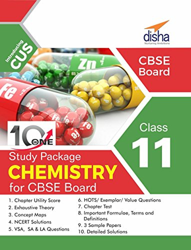 10 in One Study Package for CBSE Chemistry Class 11 with 3 Sample Papers