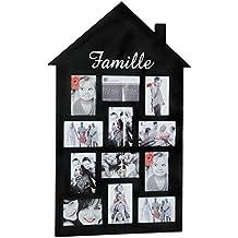 cadre photo pele mele. Black Bedroom Furniture Sets. Home Design Ideas