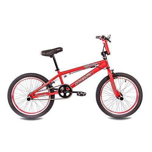 "51Aj0cmBfaL. SS500  - 20"" BMX BIKE KIDS CORE 360 ROTOR FREESTYLE red - (20 inch)"