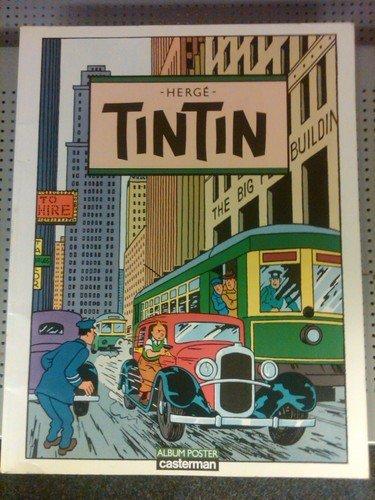 Tintin: Album poster