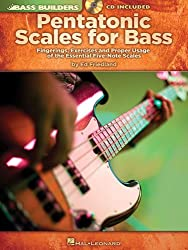 Pentatonic Scales for Bass: Fingerings, Exercises and Proper Usage of the Essential Five-Note Scales [With CD (Audio)] (Bass Builders)