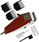 Hanumex RF666 FYC Professional Hair and Beard Clipper (Red)