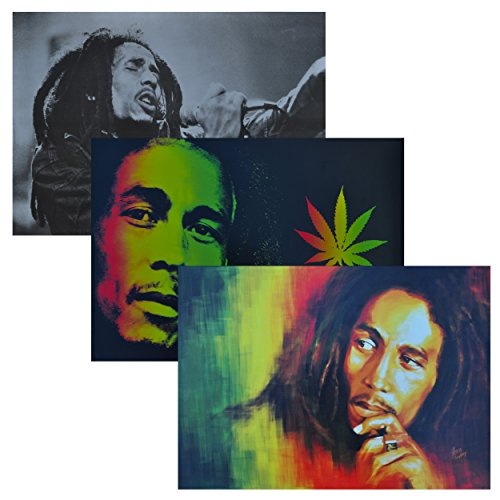 Bob Marley Poster Pack A3 Size (3 Posters)