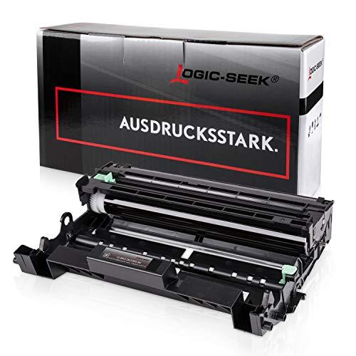 Logic-Seek Trommel kompatibel für Brother HL-5450DN HL-5450DNT HL-5440D DCP-8250DN MFC-8510DN 8950DWT - DR-3300 - Schwarz 30.000 Seiten