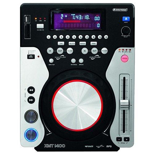 Omnitronic 11046035 XMT-1400 TischTop-CD-Player