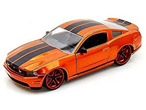 2010 Ford Mustang LOPRO 1/24 Copper w/ extra rims by Ford