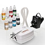 Airbrush Cake Decorating Kit | Watson & Webb Little Airbrush LA1 Including 8