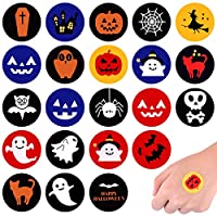 TUPARKA Halloween Stickers Round Self Adhesive Stickers for Student Rewards Party Supplies Goodie Bags