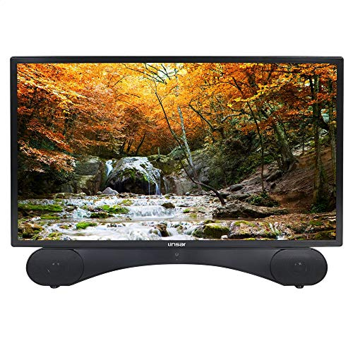 Linsar X24DVDMK2 24-Inch LED Full HD 1080p TV/DVD Kit with Freeview HD and Built-In Soundbar - Black (Certified Refurbished)