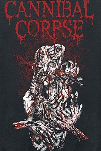 Cannibal Corpse Stabhead 1 Kapuzenjacke schwarz Schwarz