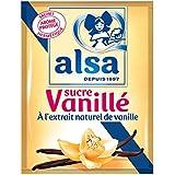 Alsa Sucre Vanillé Extrait Naturel Vanille 12 Sachets 90 g