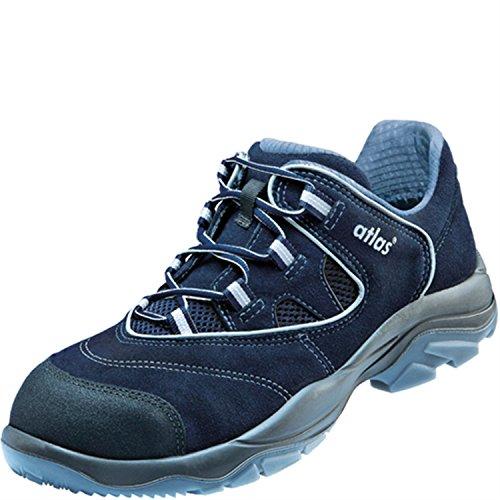 Atlas Chaussures basses de sécurité ESD Ergo de Med CF 4Largeur de Blueline dans 12après en ISO 20345S1SRC de Noir