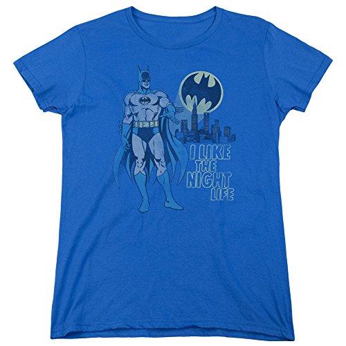 DC Comics Damen T-Shirt Königsblau