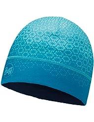 SET - BUFF® MICROFIBER 1 LAYER HAT Gorro + UP® Ultrapower Paño tubular   Beanie   Logo   Transpirable   Antiolor, Buff Design:616. HAK TURQUOISE - 113251.789.10.00