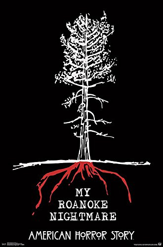 Poster American Horror Story - My Roanoke Nightmare (55,9cm x 86,4cm) + un poster surprise en cadeau!