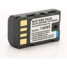 Rusty Bob - BN-VF808 acumulador / batería JVC GR-D720, GR-D720E, GR-D725, GR-D740, GR-D745, GR-D750, GR-D760, GR-D770, GR-D771, GR-D775 - Sólo la batería