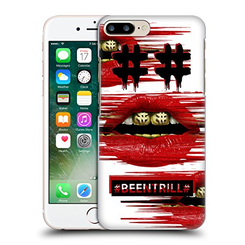 Official Been Trill Japanese Mask Glitch Hard Back Case for Apple iPhone X Red Lips