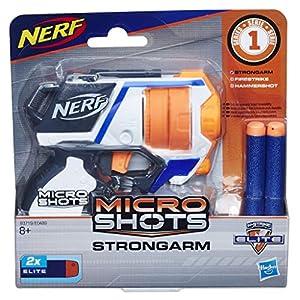 Nerf- Microshots Strongarm SE1, (Hasbro E0719ES0)
