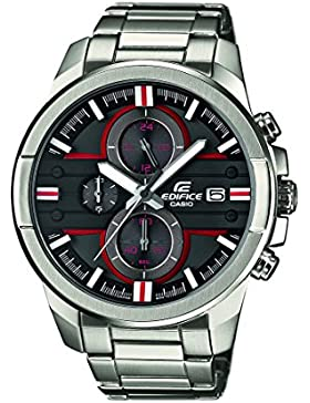 Edifice Herren-Armbanduhr XL Edifice Analog Quarz Edelstahl EFR-543D-1A4VUEF