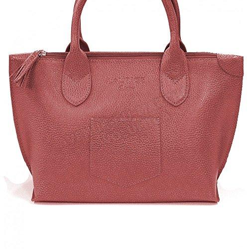 Sac épaule Marie cuir Fabrication Luxe Française Rouge Bordeaux