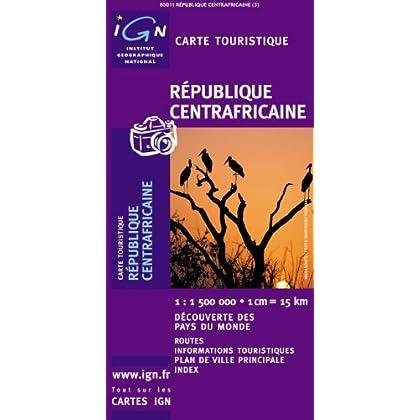 Carte routière : République Centrafricaine
