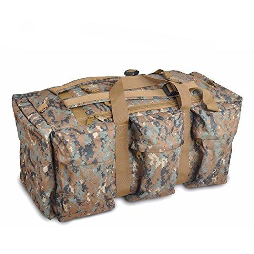 Zaino tattico all'aperto, impermeabile QMFIVE sacchetto di viaggio multifunzionale della borsa di grande capacità e della donna (SMMC) WL