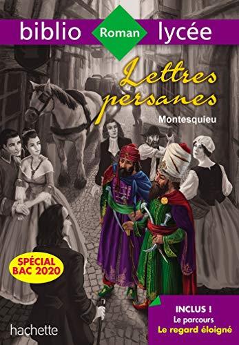 BiblioLycée Lettres Persanes Montesquieu Bac 2020