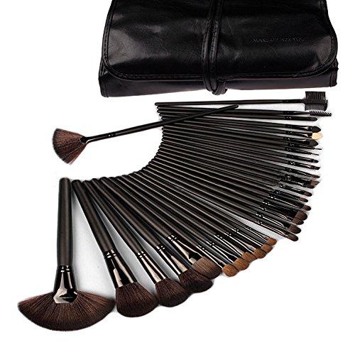 XUAN 32 pinceaux de maquillage cosmétique professionnel noire Maocai Ma beauté maquillage brosse cosmétiques ensembles