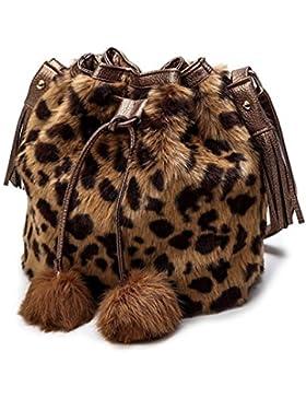 Hunpta Mädchen ziemlich niedlich Plüsch Handtasche Umhängetasche Messenger Tasche Schultertasche