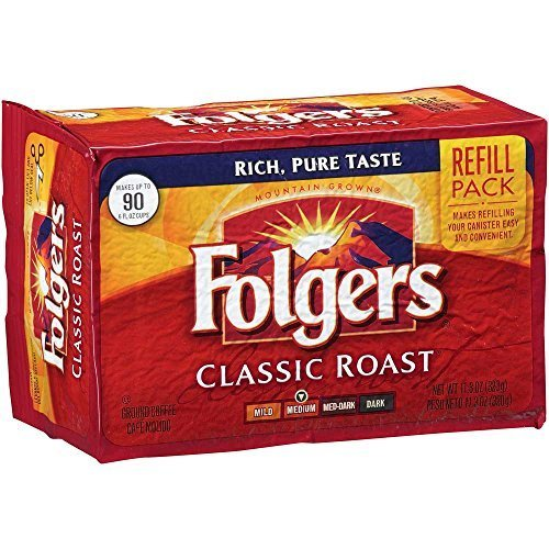 folgers-classic-roast-ground-coffee-113-oz-vacuum-bag-12-bags-per-case-by-n-a