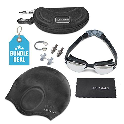 swimming-goggles-w-silicone-swim-cap-bundle-nose-clip-ear-plugs-case-dry-cloth-anti-fog-uv-protected