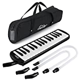 Best Melodicas - Eastar Mélodica 32 Touches, 2 Embouchures, Housse inclus Review