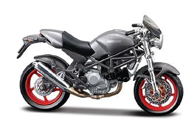 Ducati Monster S4, Maisto Motorrad Modell 1:18 von Maisto