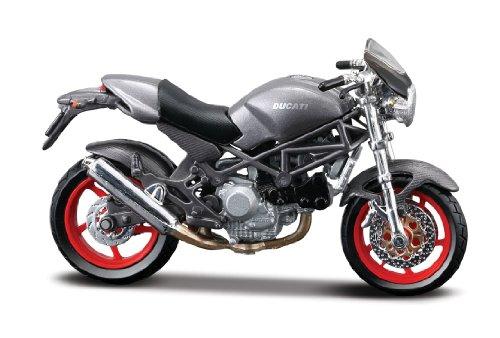 Spielzeug Ducati Motorrad (Ducati Monster S4, Maisto Motorrad Modell 1:18)