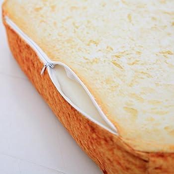 Zhouba Toast Slice Pain Forme Chien éponges d'anniversaire Chat en peluche pour animal domestique Tapis de coussin