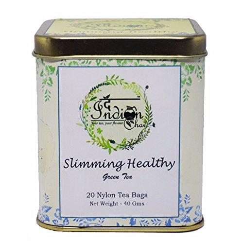 The Indian Chai - Slimming Healthy Green Tea, 20 Nylon Tea Bags, Herbal Tea, Slim Tea  available at amazon for Rs.375
