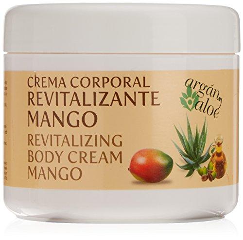 Argan-Aloe 70050 - Crema corporal revitalizante con mango