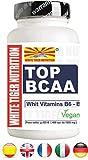 BCAA Aminoácidos Ramificados 2: 1: 1. | 200 Comprimidos 270 gr | con Vitaminas B6 y...