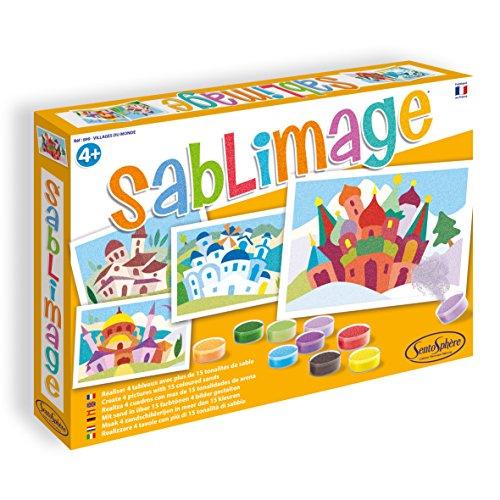 Sentosphere Sentosphère 899–Kreativset SABLIMAGE: Dörfer Welt (Sand-dorf)