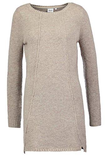 Object Objnonsia Strickkleid Kleid für Damen Gr. L braun