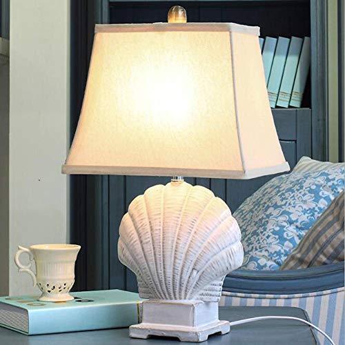 ASDF Mediterránea Jane Euro lámpara de cerámica Dormitorio lámpara de Noche Moderna...