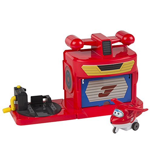 Super Wings - Pista de despegue Super Wings Jett de fricción (ColorBaby 75885)