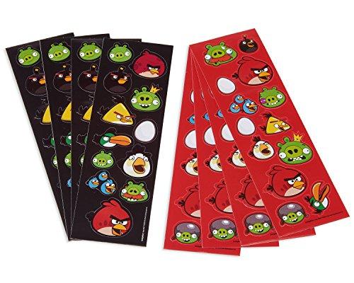 AMSCAN INC. Angry Birds Sticker Strips (Halloween Angry Kostüm Birds)