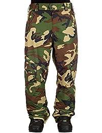 Horsefeathers Hosen Casper Pants - Chaqueta de esquí para hombre, color camuflaje, talla 2XL